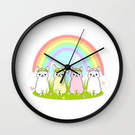 Alpaca Paradise Wall Clock