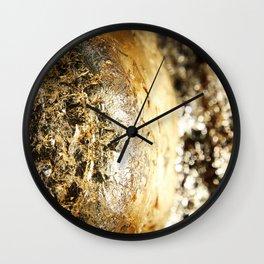Texture abstract 2017 002 Wall Clock