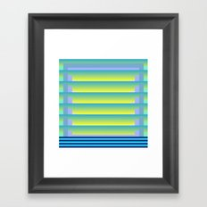 Gradient Fades v.3 Framed Art Print