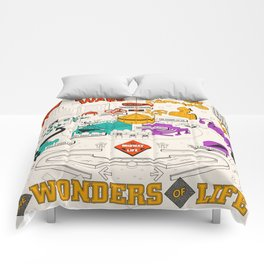 Wonders of Life Placemat Comforters