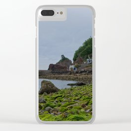 Babbacombe Beach Clear iPhone Case