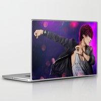 shinee Laptop & iPad Skins featuring SHINee - Taemin by Nikittysan