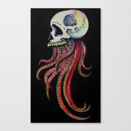 Tintaskull Canvas Print