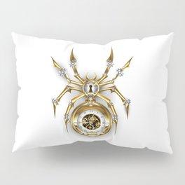 Spider with Clock ( Steampunk ) Pillow Sham