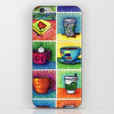 The Daily Coffee Poster iPhone & iPod Skin