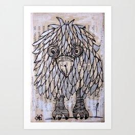 PASSERO 2 Art Print