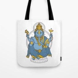Alienphant Tote Bag