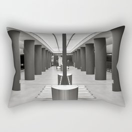 Underground Station - Brandenburg Gate - Berlin Rectangular Pillow