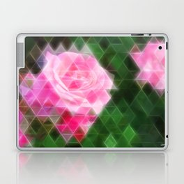 Pink Roses in Anzures 1 Art Triangles 2 Laptop & iPad Skin
