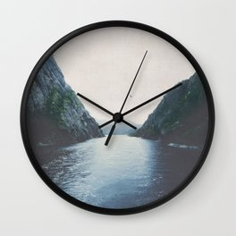 silence II Wall Clock