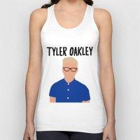 tyler spangler Tank Tops featuring Tyler Oakley by BethTheKilljoy