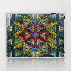 The Flower of Life (Sacred Geometry) Laptop & iPad Skin