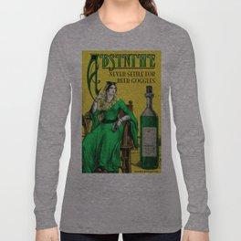 Absinthe Vintage Poster Long Sleeve T-shirt
