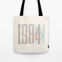 BORN 1984 Tote Bag