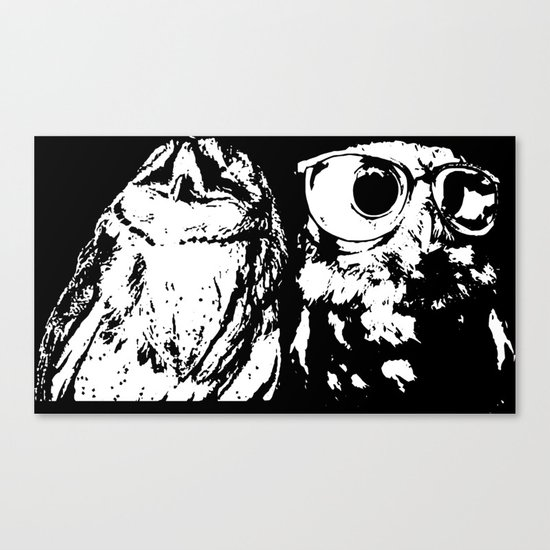 Wise Guys Canvas Print