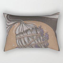 Smudge Stick Rectangular Pillow