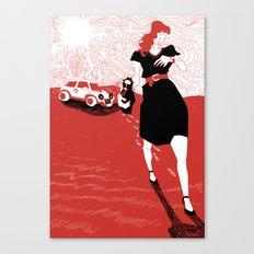 Canicola Canvas Print