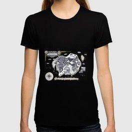 Neverland Illustration  T-shirt