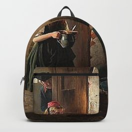 Berthold Woltze - Yound Gipsy in Arrest.jpg Backpack