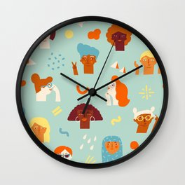 We are women Wall Clock