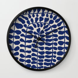One Hundred-Leaved Plant #4 Wall Clock