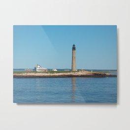 Petit Manan Island Lighthouse Metal Print