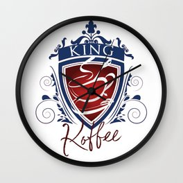 King Koffee Wall Clock