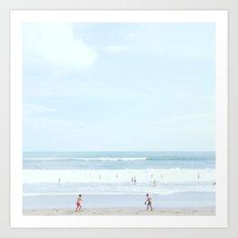 50 shades of blue #1 Art Print
