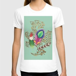 TRIbal Feathers T-shirt