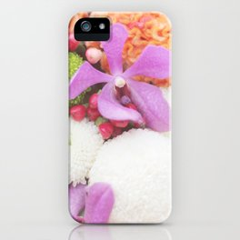 Floral Touch iPhone Case