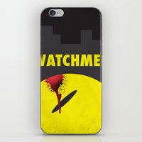 watchmen iPhone & iPod Skins featuring Watchmen by Thcenk
