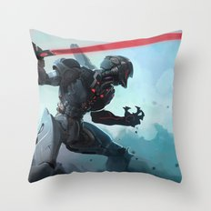 Antiborg Throw Pillow