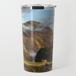 Thomas Cole A View of the Mountain Pass Called the Notch of the White Mountains (Crawford Notch) Travel Mug