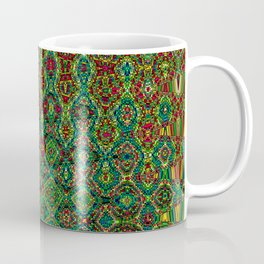 Mosaic Abstract Coffee Mug
