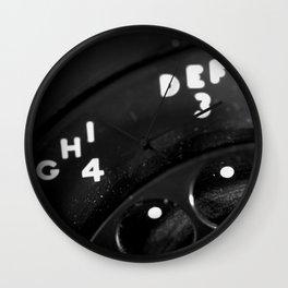 Phone Focus Wall Clock