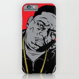 The Biggie Poster iPhone Case