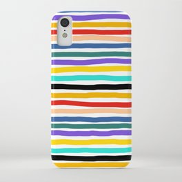 Wiggly Stripes iPhone Case