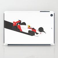 senna iPad Cases featuring The Senna - McLaren MP4/4  by Salmanorguk