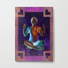 Purple Trance Metal Print