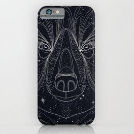 Bear Sky iPhone Case