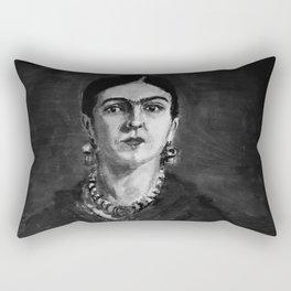 Frida Kahlo Art Rectangular Pillow