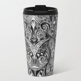 Drawing Floral Zentangle G6B Travel Mug