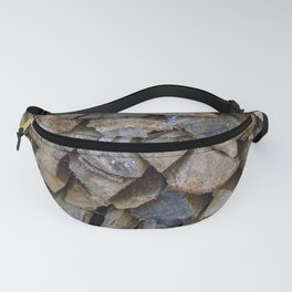 The wood pile Fanny Pack
