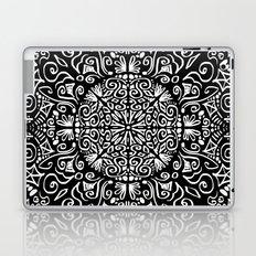 Doodle circle 1 Laptop & iPad Skin