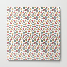 Raindots Bright Spots Metal Print