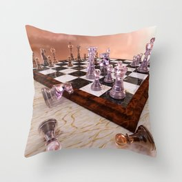 A Game of Chess Throw Pillow