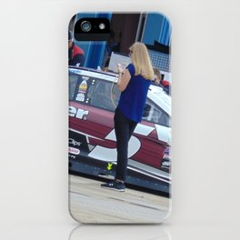 Hey Beautiful...Your Blocking the Car!!!! iPhone Case
