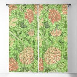 Chrysanthemum Floral Pattern Blackout Curtain