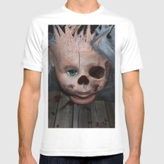 Fibrodysplasia Ossificans Progressiva White MEDIUM Mens Fitted Tee