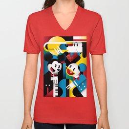 Mickey's Band Unisex V-Neck
